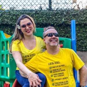 Camisa com Estampa LISTA 2020 - Masculina Amarela.
